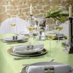 Moderne abwaschbare Festtagstafel-Tischdecke