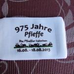 Handysocke 975 Jahre Pfieffe - Handytasche bedruckt mit eigenem Logo - Werbegeschenk