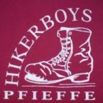 Hikerboys Logo auf Poloshirt beflockt