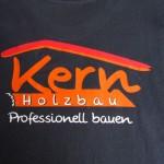 Holzbau Kern T-Shirt mit Logo Aufdruck