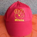 Milena Kappe beflockt