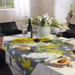 Moderne fleckabweisende Tischdecke