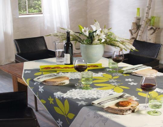 Moderne Tischdecke hochwertige tischdecken auch nach maß mit antifleckschutz