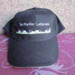 Die Pfieffer Latschen Kappe - bestickte Cap mit Logo