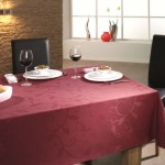 Tischdecke Royal Ranke mit Fleckschutz