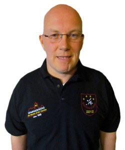 Poloshirt bestickt mit Wappen und Logo